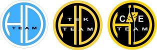 hd team 3 loghi